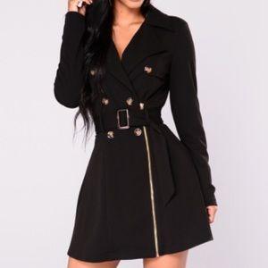 New black trench coat